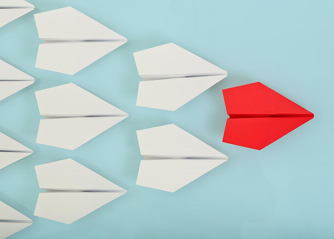Verschillende stappen van communicatiestrategie.