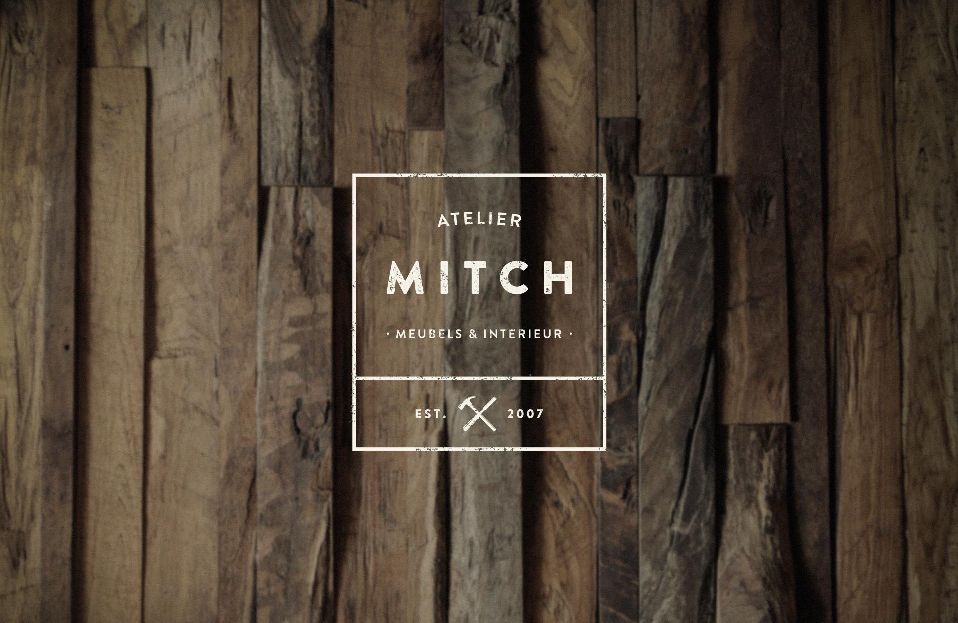 Logo en huisstijl voor meubelmaker Mitch